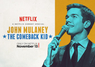 The Comeback Kid – John Mulaney			    	    	    	    	    	    	    	    	    	    		4/5							(2)